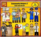 Community Helpers 2 - Jobs and Career Clip Art by Charlott
