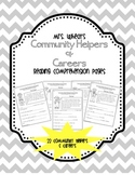 Community Helpers & Careers Reading Comprehension Pages