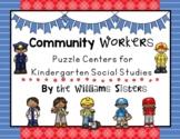 Community Helpers Center for Social Studies