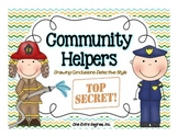 Community Helpers: Drawing Conclusions... Detective Style!