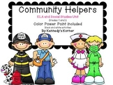 Community Helpers ~ Power Point  and ELA activities in PDF