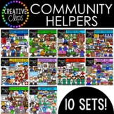 Community Helpers: Growing Bundle {Creative Clips Digital