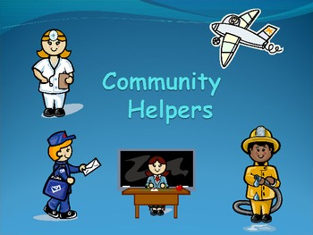 essays on community helpers