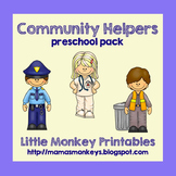 Community Helpers Preschool Pack