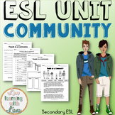 Community Unit for ESL, ELL (Reading, Writing, Speaking, a