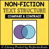 Compare & Contrast -- Text Structure Packet