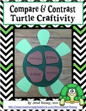 Compare and Contrast Turtle Craftivity