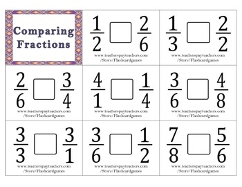 Comparing fractions - Who bigger? | Kids Activities