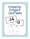 Comparing Integers Card Game
