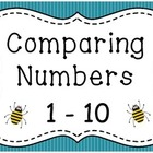 Comparing Numbers - 1 to 10