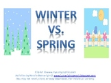 Comparing Winter & Spring