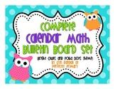 Complete Calendar Math Bulletin Board Set {Polka Dot and O