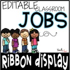 Complete Classroom Job Chart Pack! {Now Editable}