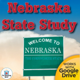 Nebraska State Study Interactive Notebook Complete Unit