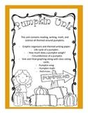 Complete October Pumpkin Unit