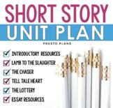 SHORT STORY UNIT PLAN: Presentations, Questions &, Fun Pri