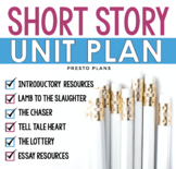 SHORT STORY UNIT PLAN: Presentations, Questions &, Fun Pri