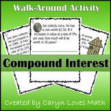 Compound Interest Walk Around Classroom Activity