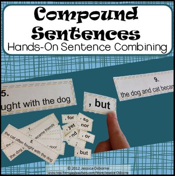 Compound Sentence Structure: A Hands-On Sentence Combining Activity