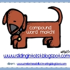 Compound Word Matching Cards