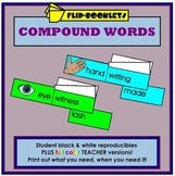 Compound Words Flip Booklets