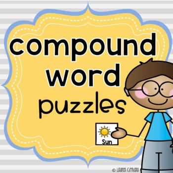 Compound Words Puzzle{Freebie}