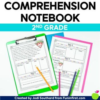 Comprehension Notebook {2nd Grade Edition}
