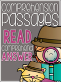 Comprehension Passages {a primary packet}