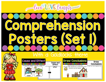 Comprehension Poster Set #1