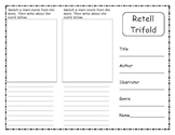 Comprehension Retell Trifold