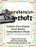 Comprehension Snapshots- Weekly Assessments & Practice CCS