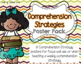 Comprehension Strategies Poster pack