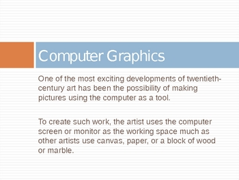 Computer Graphics Introduction