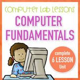 Computer Lab Lessons - Computer Fundamentals Complete Unit