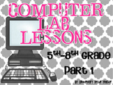 Computer Lab Lessons Part 1