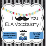 Test Prep  {ELA Vocabulary}