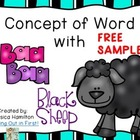 Concept of Word with Nursery Rhymes - Baa Baa Black Sheep