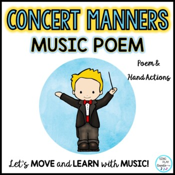 Concert Manners Poem for Music-Drama-Events-Programs-Concerts