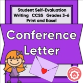A Friendly Conference Letter: Student Written to Parent
