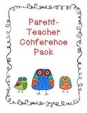 Conferences (Parent-Teacher) Pack
