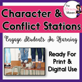 Conflict and Characterization Stations - Common Core Aligned