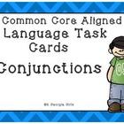 Conjunction Task Cards Free Printable