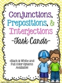 Conjunctions, Prepositions, & Interjections: Upper Grades