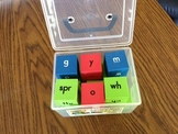 Consonant Blend, Digraph & Cluster Blox with Cards
