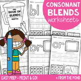 Blends Worksheets - Consonant Blends Initial and Final Phonics