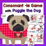 Consonant -le with Puggle the Dog
