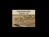 Constitution Day PowerPoint for elementary level