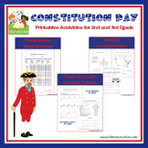 Constitution Day - Activities for 2nd and 3rd Grade