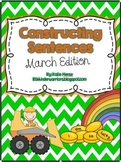 Constructing Sentences for March