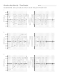 Constructing Velocity-Time Graphs from Position-Time Graphs